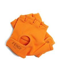 Fendi - Fingerless Gloves - Lyst