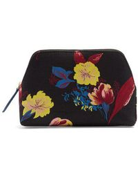 Diane von Furstenberg - Silese-print Canvas Cosmetics Case - Lyst