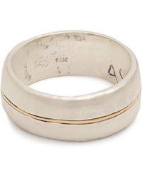 Aris Schwabe - Silver N' Gold Sterling Silver Ring - Lyst