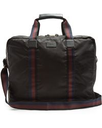 Paul Smith   Leather-trimmed Garment Holdall   Lyst