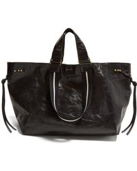 Isabel Marant - Wardy Leather Shopper Bag - Lyst