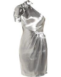 Maria Lucia Hohan - Alya One Shoulder Organza Mini Dress - Lyst