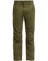 Maharishi - Original Snopants Mountain Embroidered Trousers - Lyst