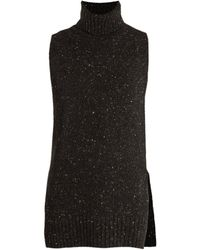 Adam Lippes - Sleeveless Wool And Cashmere-blend Jumper - Lyst