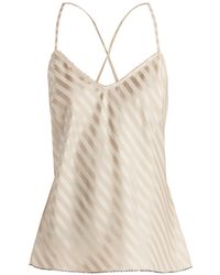 Morgan Lane - Lena Silk Blend Cami Top - Lyst