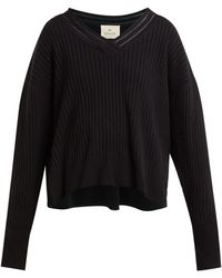 By. Bonnie Young - V Neck Cashmere Blend Sweater - Lyst