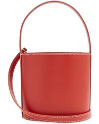 Staud | Bissett Leather Bucket Bag | Lyst
