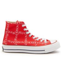 Converse - Chuck 70 Logo Print High Top Trainers - Lyst