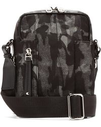 Dolce & Gabbana - Camouflage Print Cross Body Bag - Lyst