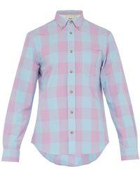Acne Studios - Isherwood Rustic Cotton Blend Shirt - Lyst