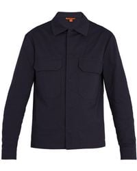 Barena | Patch-pocket Stretch-cotton Jacket | Lyst