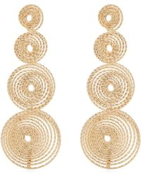 Rosantica By Michela Panero - Soffio Spiral-drop Earrings - Lyst