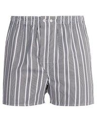 Derek Rose - Milly Classic-fit Cotton Boxer Trunks - Lyst