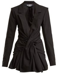 Jacquemus - Rafeal Ruched Fitted-jacket - Lyst