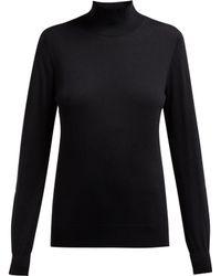 Burberry - Windward Logo Intarsia Merino Sweater - Lyst