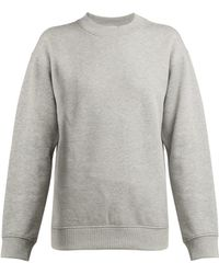 Paco Rabanne - Logo-embroidered Cotton Sweatshirt - Lyst