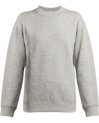 Paco Rabanne - Logo-embroidered Cotton Sweatshirt - Lyst