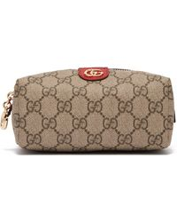 d884babecc1bbb Gucci - Ophidia Gg Supreme Canvas Make Up Bag - Lyst