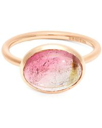 Irene Neuwirth - 18kt Gold And Tourmaline Ring - Lyst