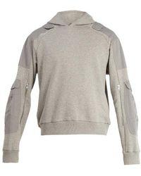 GmbH - Marlon Hooded Cotton Sweatshirt - Lyst
