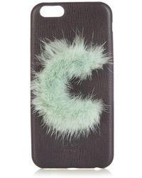Fendi - Leather Iphone® 6 Case - Lyst