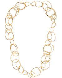 Aurelie Bidermann - Maria Chain-link Necklace - Lyst