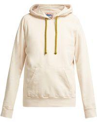 Acne Studios - Hooded Cotton Sweatshirt - Lyst 7dd1bc39ac3
