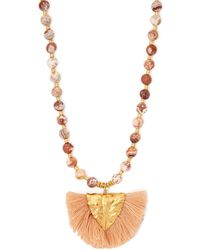 Elise Tsikis - Los Beaded Necklace - Lyst