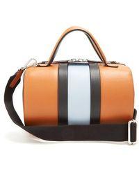 Marni - Duffle Striped Leather Bag - Lyst