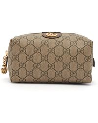 Gucci - Ophidia Gg Supreme Canvas Make Up Bag - Lyst