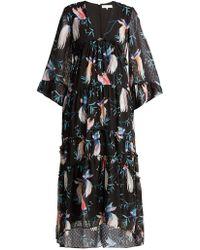Borgo De Nor - Idris Chiffon Maxi Dress - Lyst