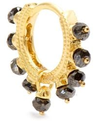 Maria Tash - Diamond & Yellow-gold Earring - Lyst