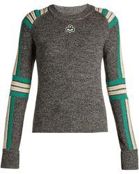 Étoile Isabel Marant - Hayward Striped Knit Sweater - Lyst