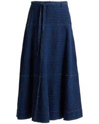 Elizabeth and James - Leila A-line Denim Skirt - Lyst