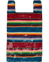 Ashish Striped Sequined Bag