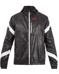 Every Second Counts - Strike Through Hooded Performance Jacket - Lyst