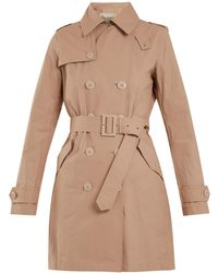 Herno - Double-breasted Cotton-blend Trench Coat - Lyst