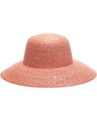 Federica Moretti Fleece Bucket Hat in Pink - Lyst 553e5b1619f7