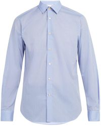 Paul Smith - Geometric Pattern Cotton Shirt - Lyst