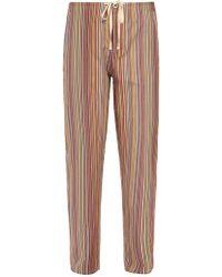 Paul Smith - Striped Pyjama Trousers - Lyst