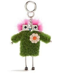 Fendi - Teen Witches Shearling Bag Charm - Lyst