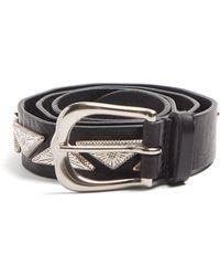 Isabel Marant - Studded Leather Belt - Lyst