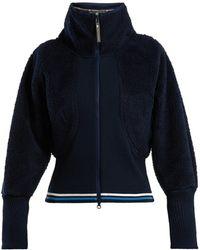 adidas By Stella McCartney - Train High Neck Fleece Jacket - Lyst
