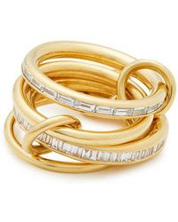 Spinelli Kilcollin - Lehmus Diamond & Yellow Gold Ring - Lyst