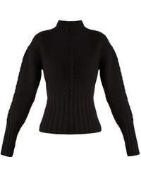 Khaite - Maude Funnel-neck Cashmere-knit Sweater - Lyst