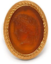 Versace - Tribute Cameo Ring - Lyst