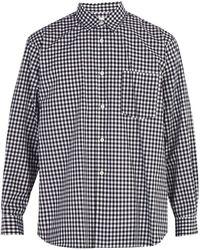 Comme des Garçons - Forever Cotton Gingham Shirt - Lyst