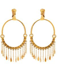 Chloé - Quinn Large Charm Earrings - Lyst