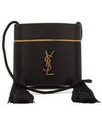 Saint Laurent - Opium Leather Box Bag - Lyst