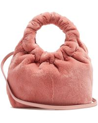 The Row - Double Circle Small Mink Bag - Lyst